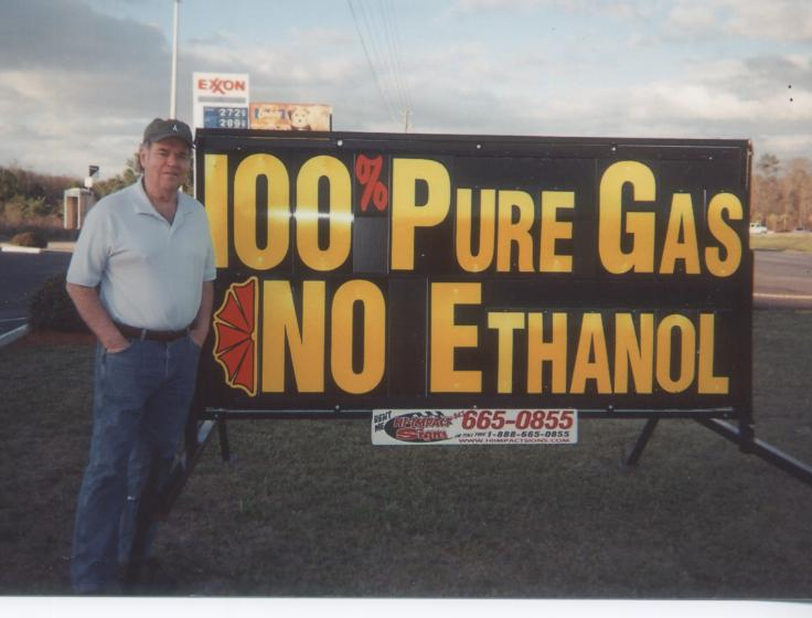 No corn pollution of our precious auto fluids!