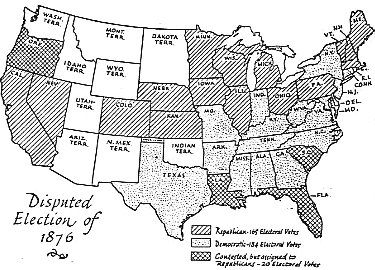 election of 876 If you think the election of 2000 was cray cray you ain't seen nothing a video lecture explaining the election of 1876 check out all of the elections here .